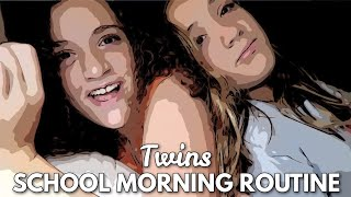 TWINS SCHOOL MORNING ROUTINE 2021
