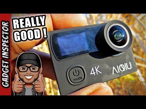 AIQIU Budget 4K Action Camera | GoPro Alternative
