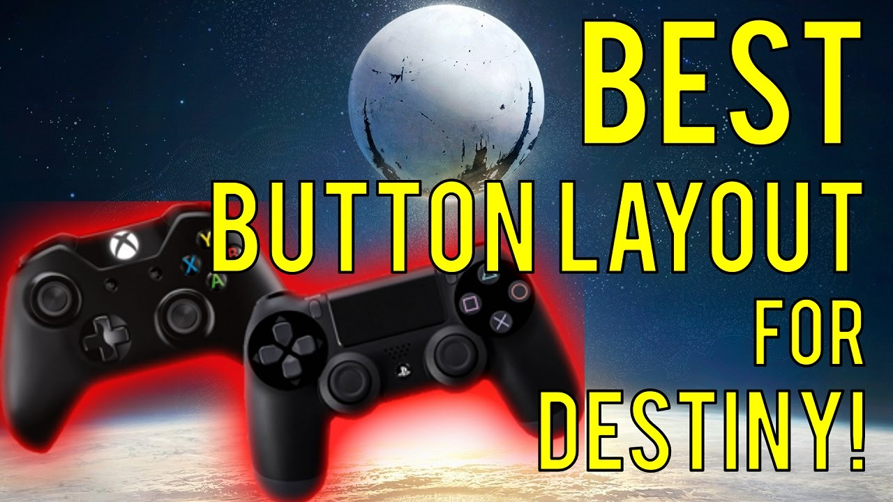 Destiny - BEST Button Layout for Crucible! (No Scuf)