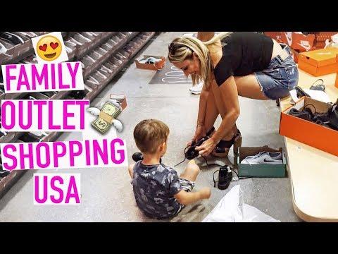 Kommt mit uns Shoppen! 😍 | XXL Designer - OUTLET SHOPPING mit MANN und KIND
