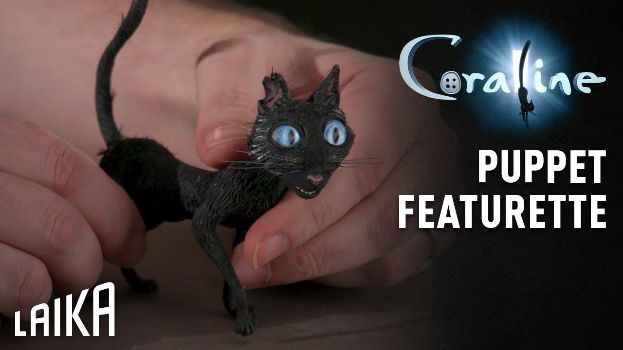 Download Puppet Featurette: The Cat - Coraline | LAIKA Studios