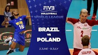 Download Video Brazil v Poland highlights - FIVB World League MP3 3GP MP4