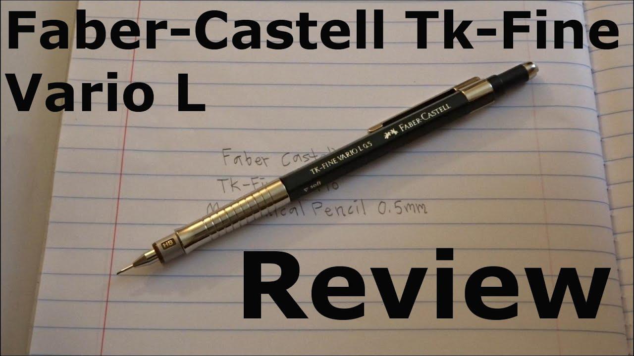 0.35mm 135300 Faber Castell Mechanical Pencil TK Fine Vario