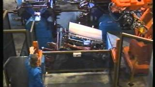 Robotic Car Door Manufacturing Line built by Machine Dynamics for Ford Australia