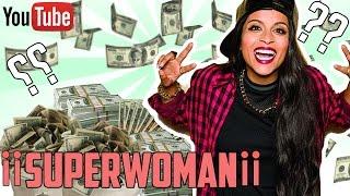 HOW MUCH MONEY DOES IISUPERWOMANII MAKE ON YOUTUBE 2016 YouTube Earnings