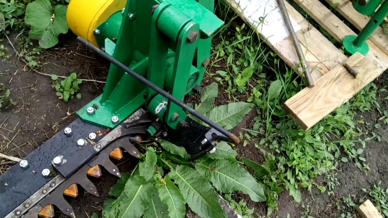 Double action sickle mower (Косилка дуплексная КД-210 ...
