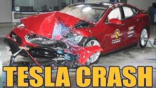 Tesla Model S - Crash Test