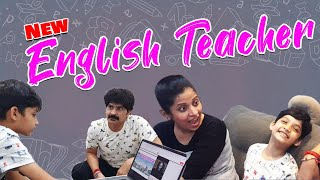 English Teacher | Foreign Tutor Special Spoken english Online class for my Son |Vlog | Sushma Kiron