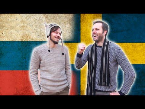Swedish VS Russian - Language challenge