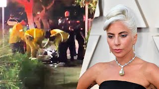 Paramedics Work to Save Lady Gaga's Shot Dog Walker