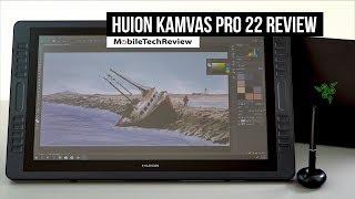Huion Kamvas Pro 22 Review