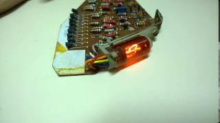 Testing a second defective Anita MK12 calculator register card