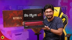 Best Budget Laptop | Acer Nitro 5 | Unboxing & Initial Impressions In Telugu By Sai Krishna