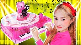 피아노가 혼자서 움직여요!  어린이 만들기 장난감놀이 …