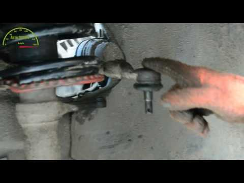 Замена рулевого наконечника ВАЗ 2110\ Как правильно заменить рулевой наконечник