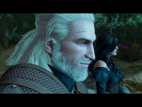 The Witcher 3: Wild Hunt - Yennefer & Geralt escape The Hunt - alternative look