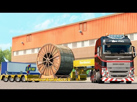 ETS 2 1.27 ProMods 2.16 Volvo FH16  Dijon - Luxembourg