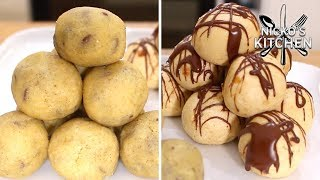 Lose Fat by Eating Fat?! | Cookie Dough 'Fat Bombs'