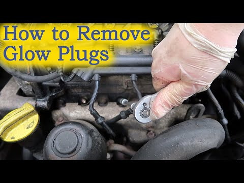 How to Remove Glow Plugs (and, where they're Fitted?)