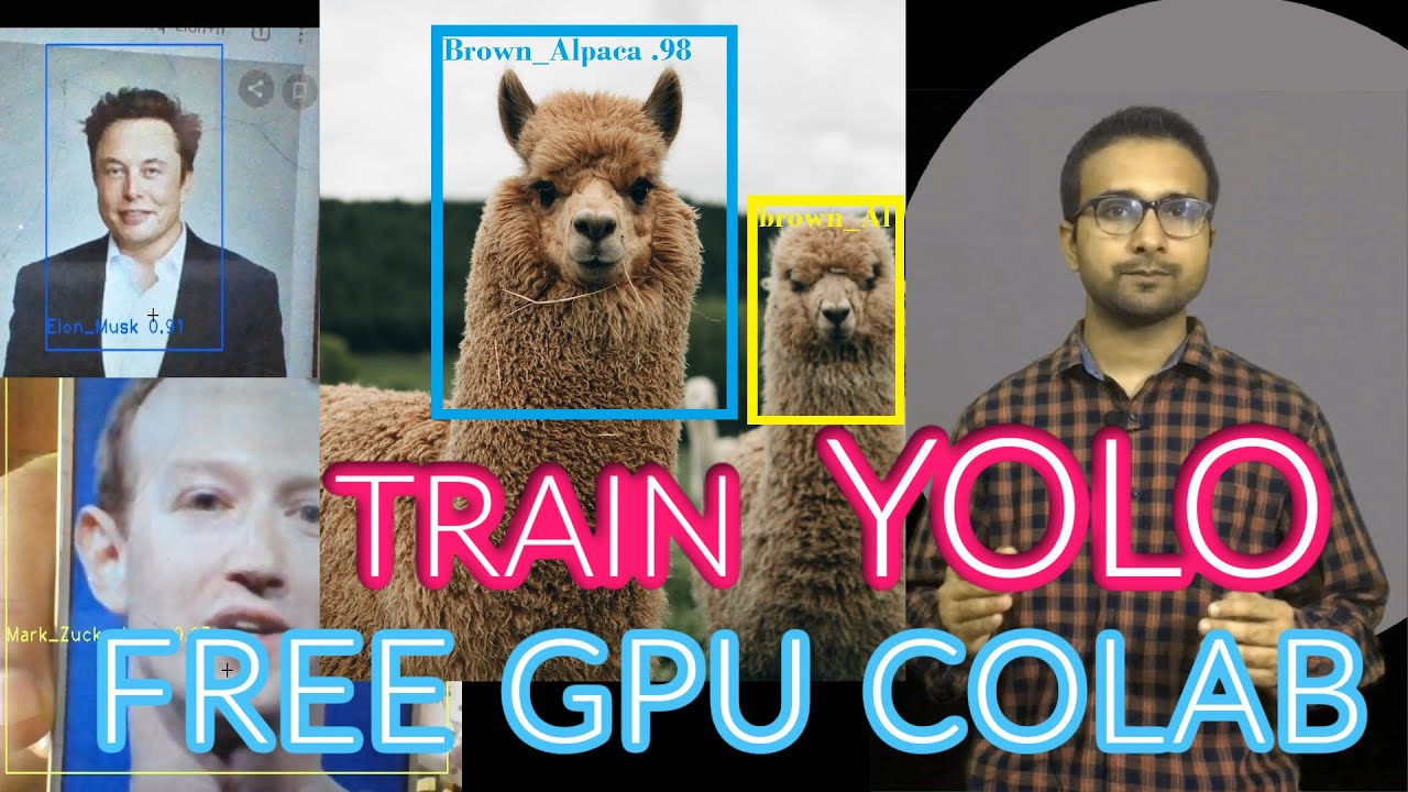 How to Train YOLO V3, V4 for Custom Objects Detection | Using Colab Free GPU