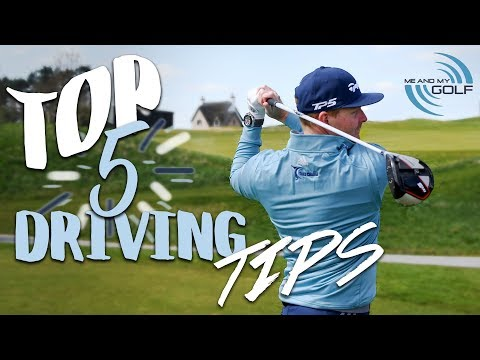Top 5 DRIVING Tips | Me And My Golf