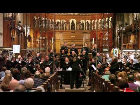 Conductor Catherine Sailer  The Evans Choir  Five Mystical Songs Vaughan Williams