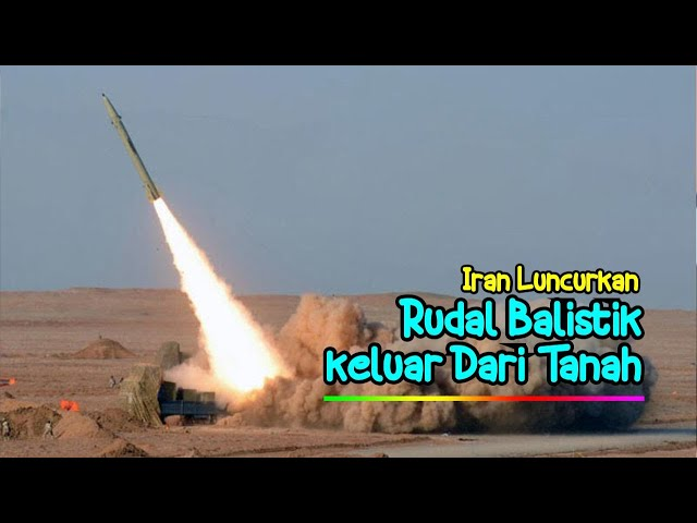 Canggih...Iran  Lakukan Tembakan Rudal Balistik Dari Dalam Tanah