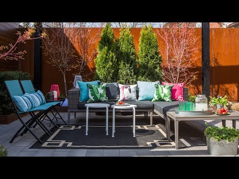 Exterior Design — One Patio, Two Stylish Looks