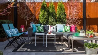 Interior Design — One Patio, Two Stylish Looks