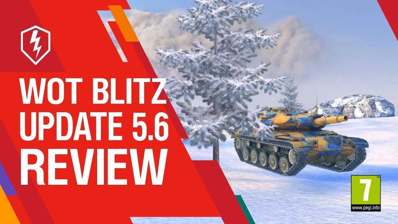 World of Tanks Blitz – The Armored Patrol