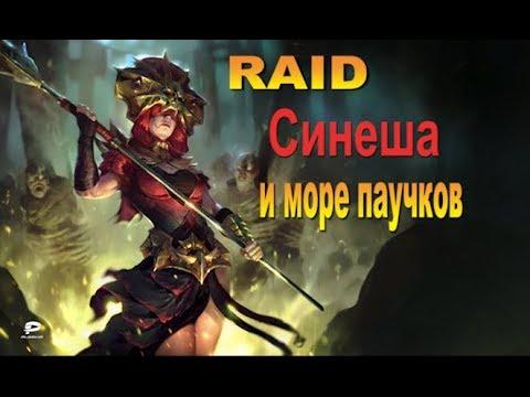 RAID shadow legends Синеша | Sinesha (Гайд/Обзор героя)Советы по прокачке