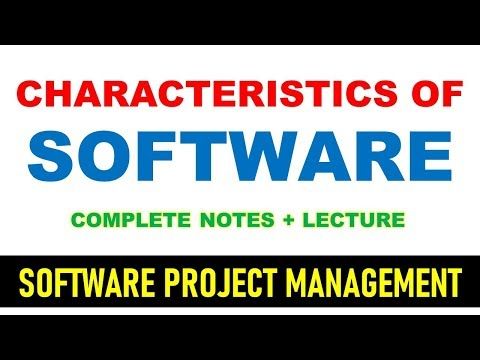 Software characteristics in software engineering tutorial in hindi ! characteristics of software thumbnail
