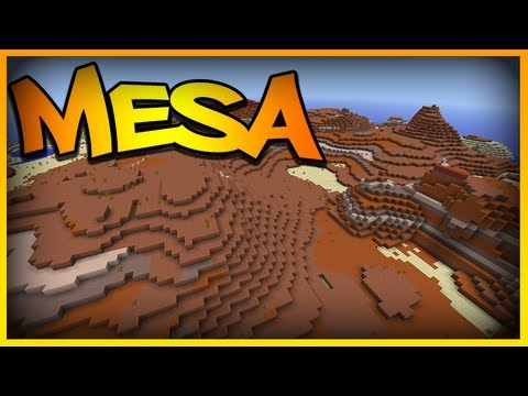 how to find a mesa biome