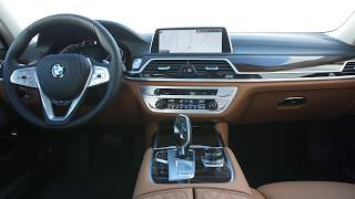 2020 BMW 7 Series interior design
