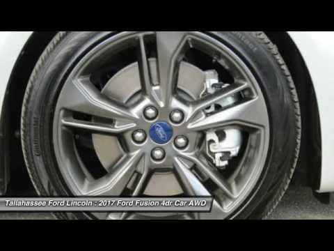 2017 Ford Fusion Tallahassee FL 204244