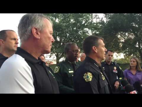 Orlando Police brief reporters on Pulse nightclub massacre