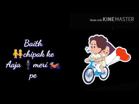 Baby Baith Chipak Ke Aaja Meri Bike Pe #song # With  Lyrics@ Edit By Ragi Surya Dev