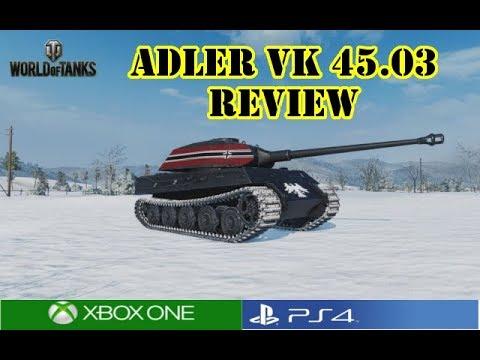 World Of Tanks - Adler VK 45.03 Review