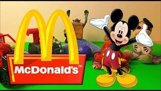 Top Disney & McDonalds Happy Meal Toys Of All Time Inc Mickey Mouse Clubhouse Toy