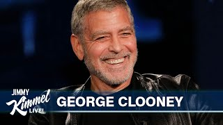 George Clooney on His Twins Speaking Italian, Quarantine Cooking & He Cuts His Hair with a Flowbee!