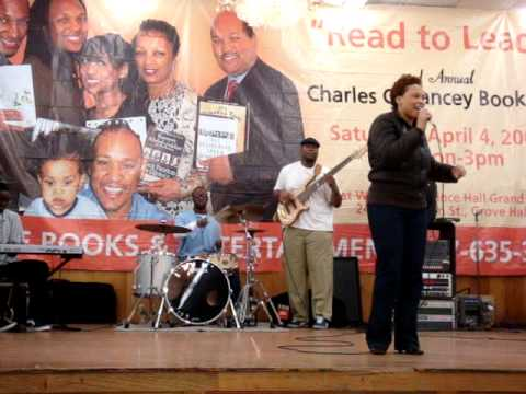 Performance for the Charles Yancey Book fair