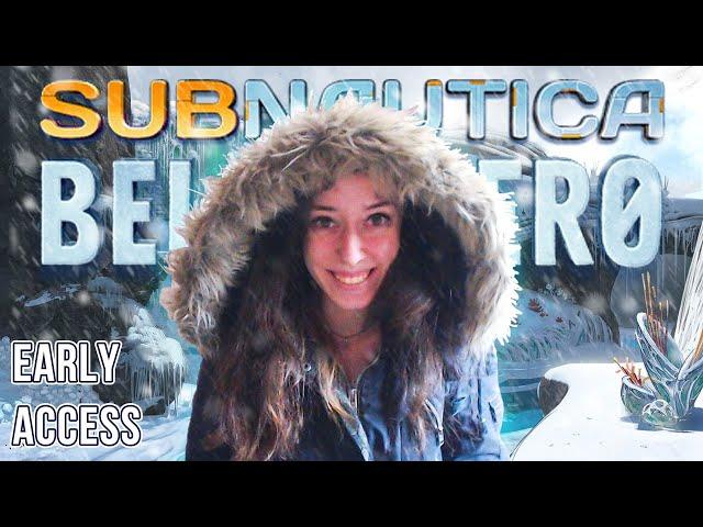 СЪБНОТИКА EARLY ACCESS! | Subnautica: Below Zero EA #1