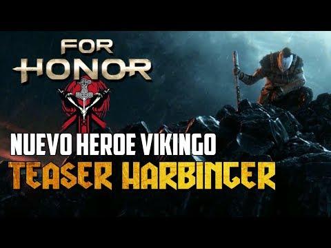 TEASER DEL NUEVO HEROE VIKINGO | HARBINGER | FOR HONOR ESPAÑOL
