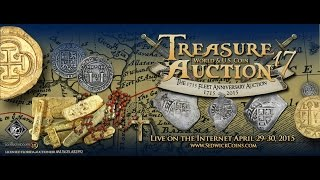 Treasure, U.s & World Coin Auction #17 - April 29-30, 2015. The 1715 Fleet Anniversary