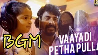 Kanaa - Vaayadi Petha Pulla Song BGM   Cute   Lalitha Tv