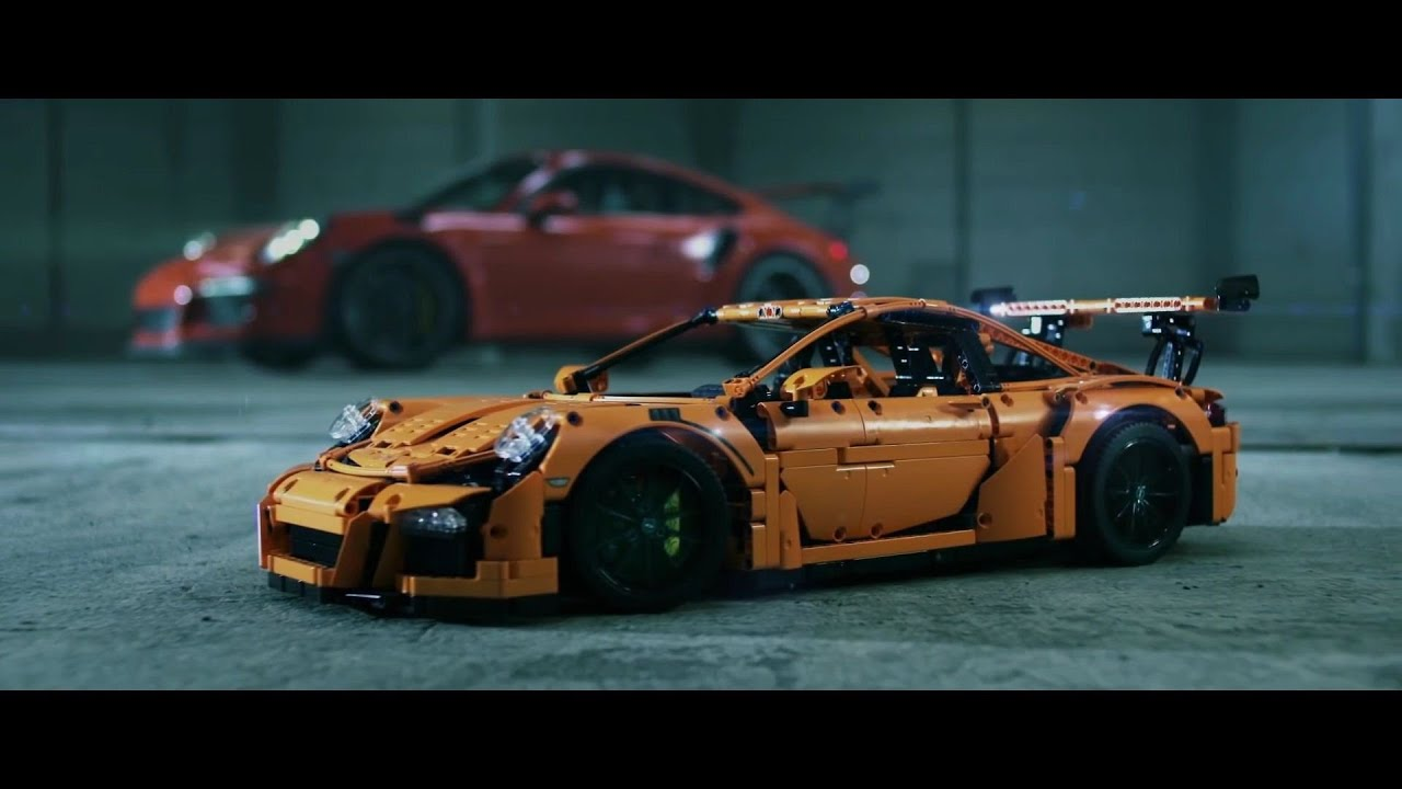 lego technic porsche 911 gt3 rs youtube. Black Bedroom Furniture Sets. Home Design Ideas