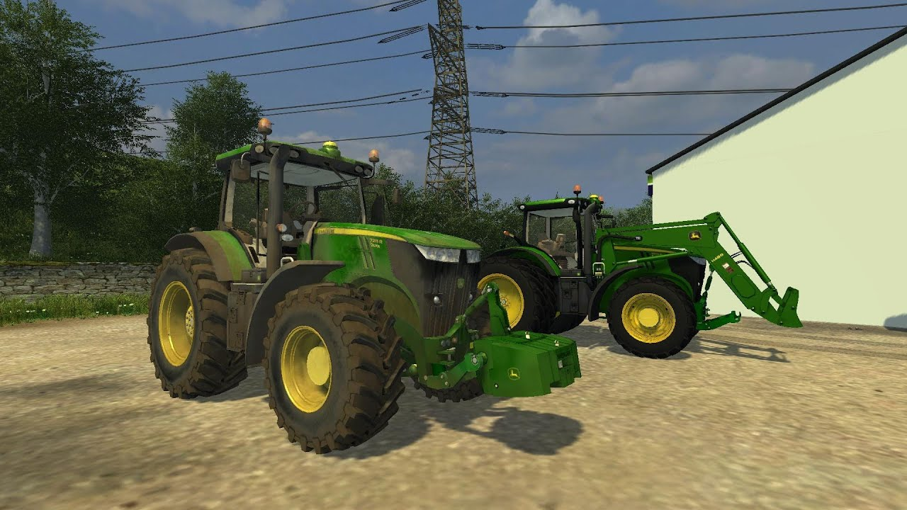 Farming simulator 2013 presentazione jd 7215r pre release version by ago youtube