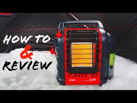 Mr. Heater Portable Buddy How to and Review