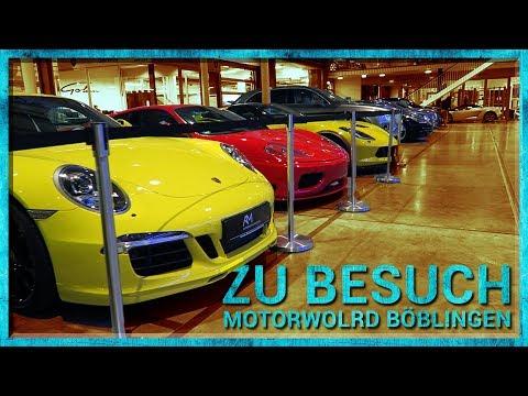 Zu Besuch in der Motorworld Böblingen | VLOG 41