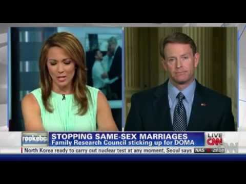 CNN Interviewer Challenges Tony Perkins to Justify Antigay Views